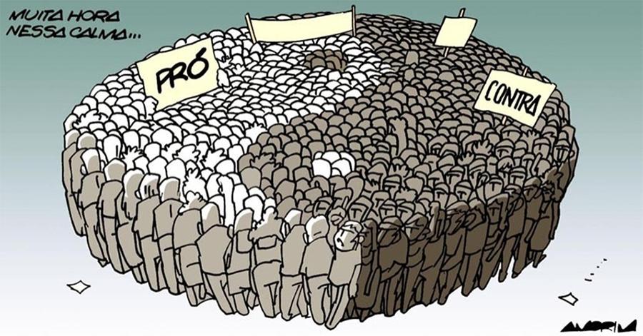 As nossas contradições explicam parte da nossa desgraça política