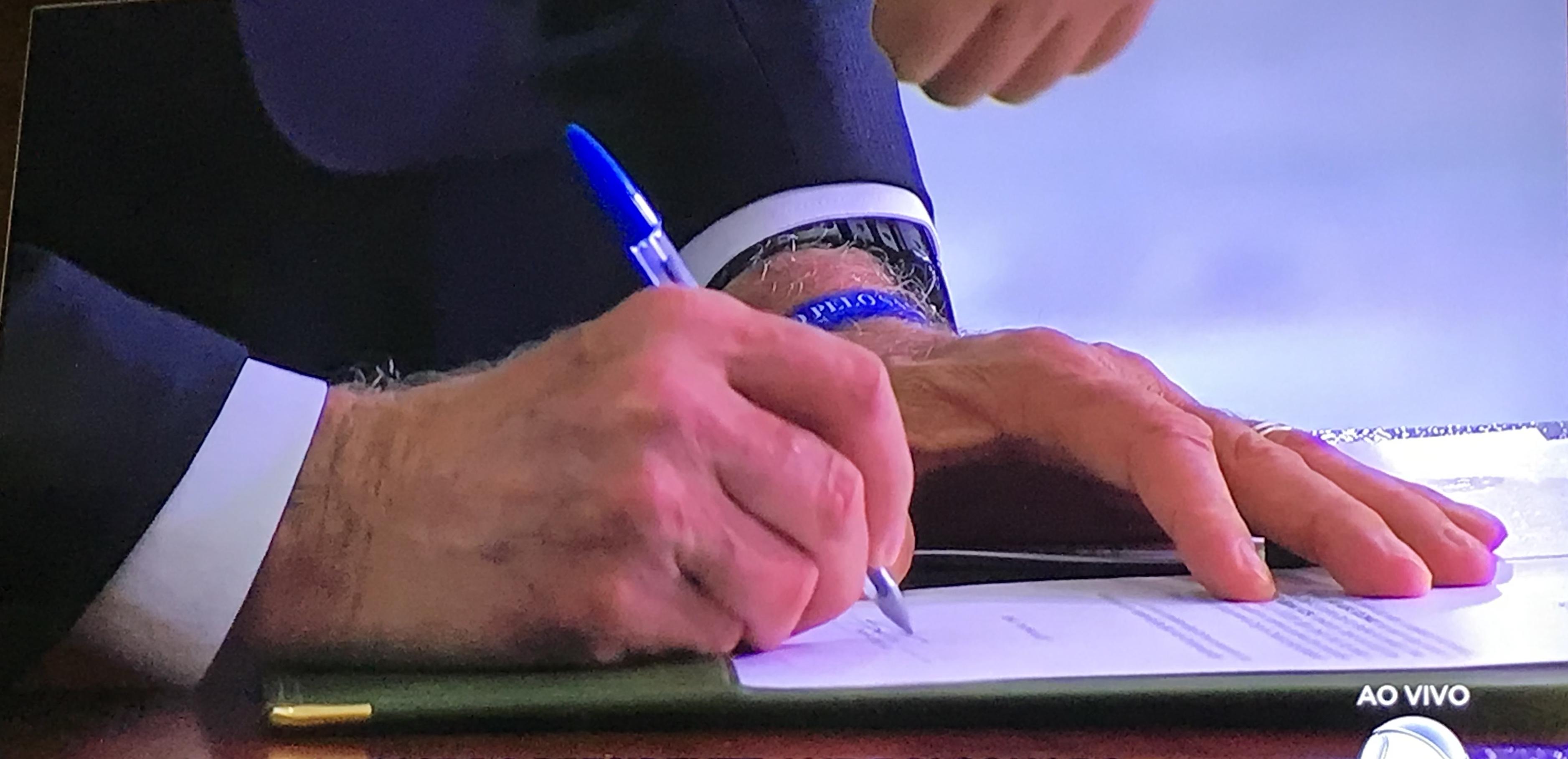 A caneta Bic e o novo presidente