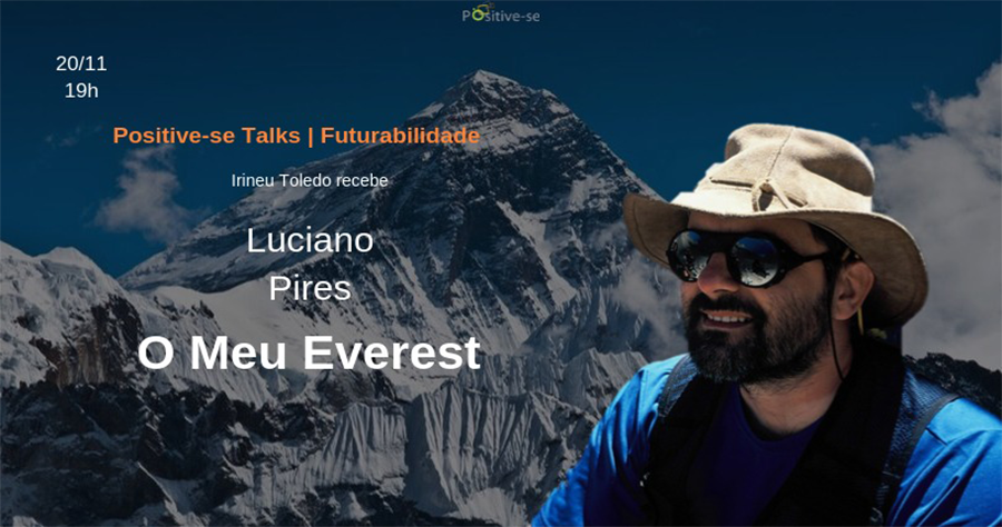 Palestra O Meu Everest