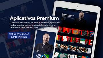 Aplicativos IOS e Android para o Café Brasil Premium!