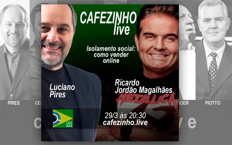 Café Brasil 712 – Cafezinho Live – Ricardo Jordão Magalhães