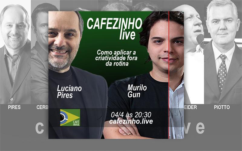 Café Brasil 714 – Cafezinho Live com Murilo Gun