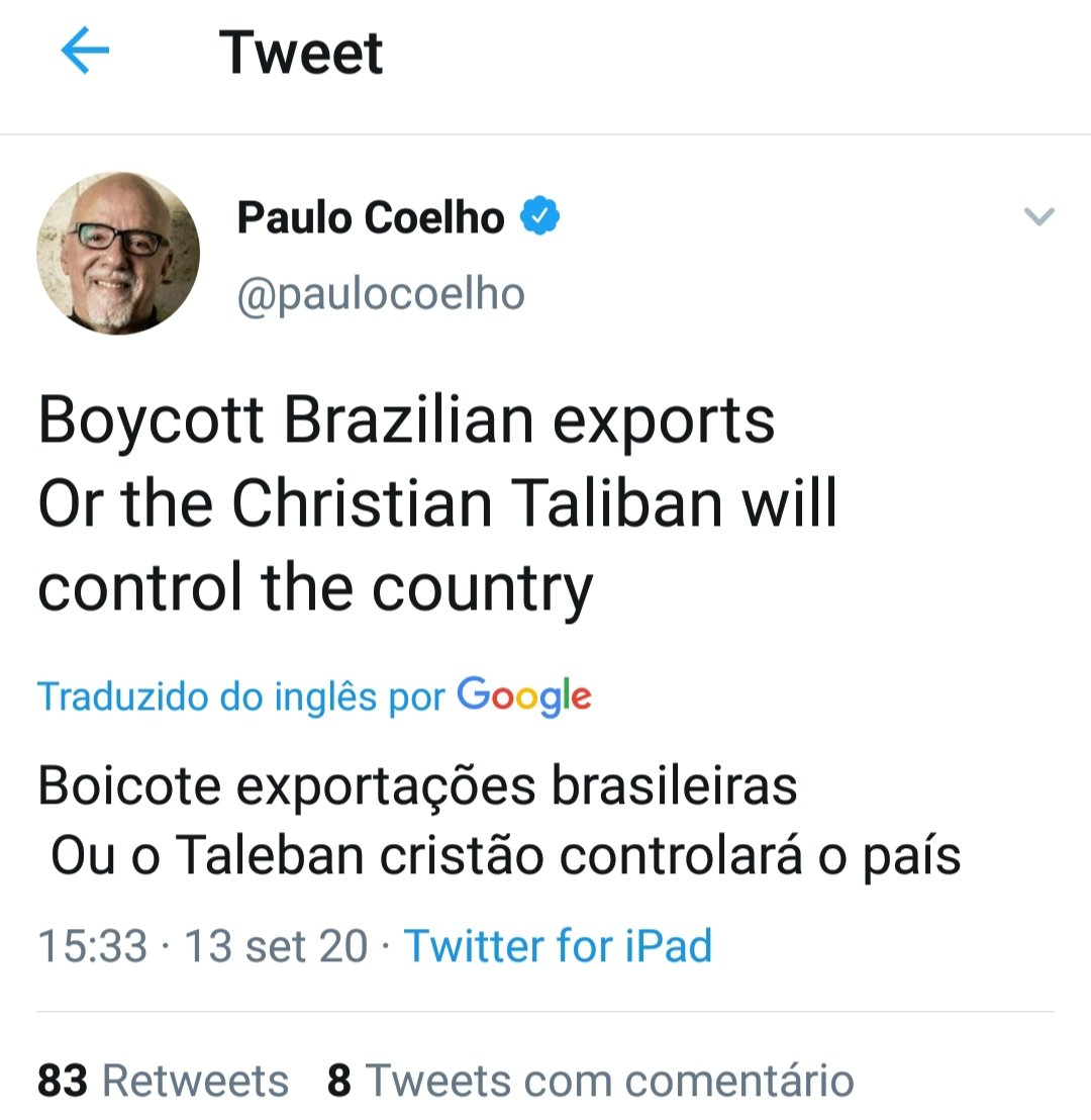 Boicote, Coelhinho?