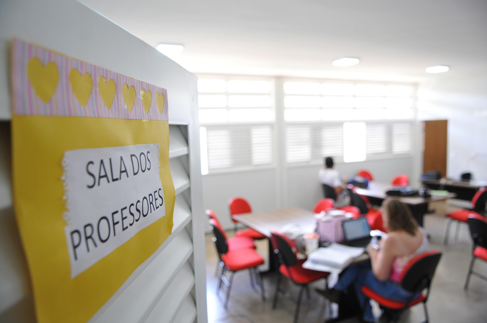 A sala de professores e a deseducação