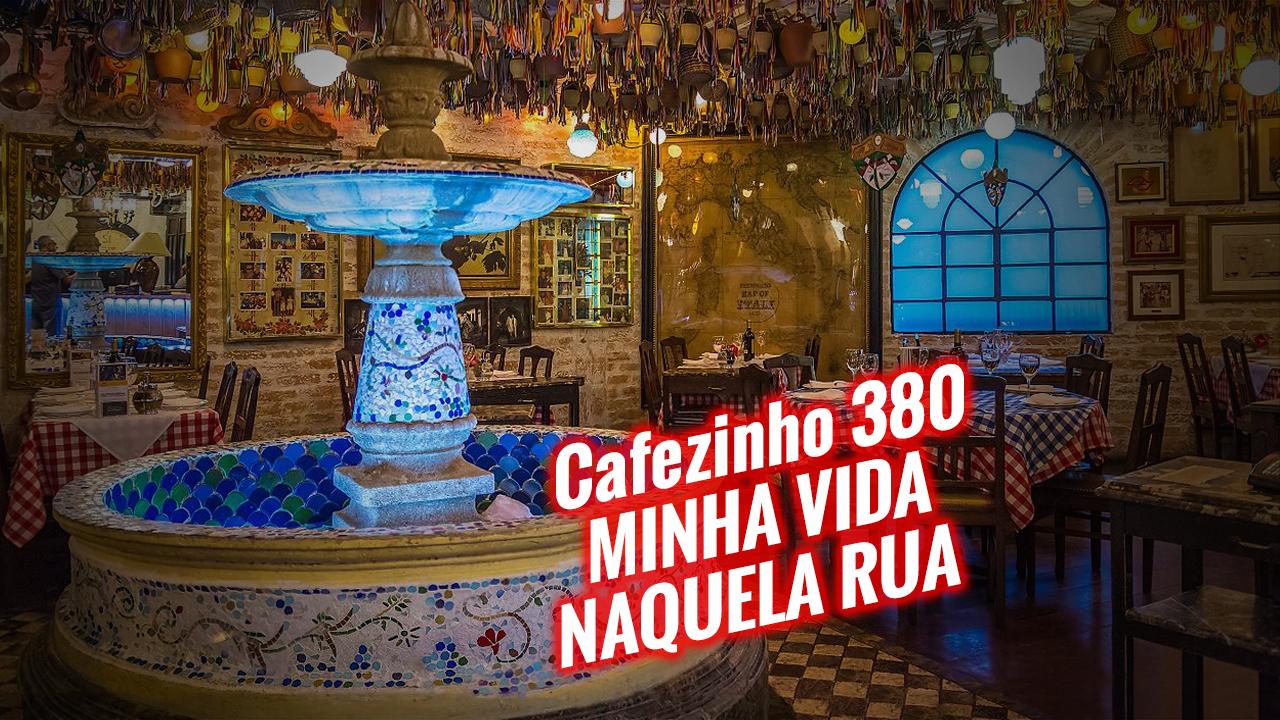 Imagem referente à: Cafezinho 380 – Minha vida naquela rua