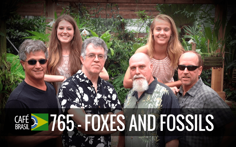 Café Brasil 765 – Foxes and Fossils